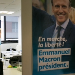 "QG de campagne ""En Marche"" 2017"