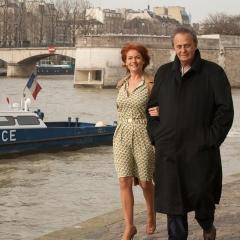 Roger Hanin et Agnès Berdugo