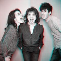 Marie, Stéphanie et Alexis Fugain