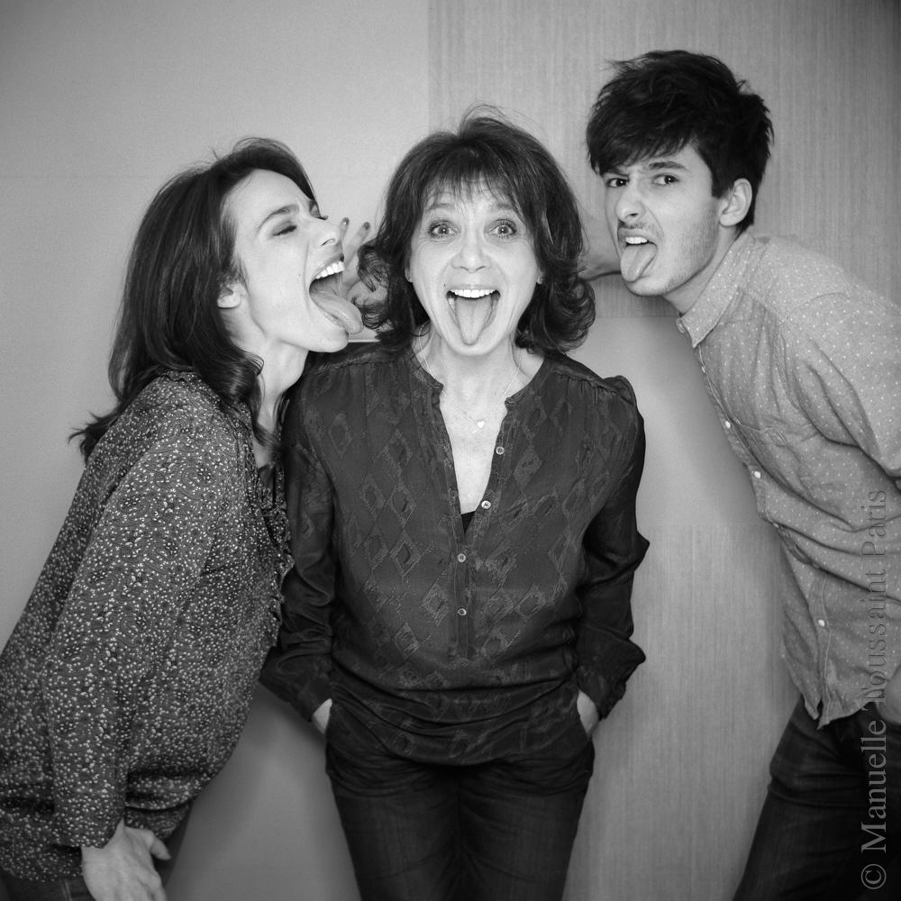 Marie, Stephanie et Alexis Fugain