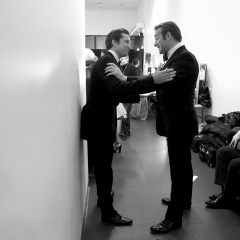Guillaume Canet et Jean Dujardin