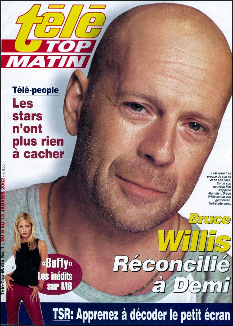 Bruce Willis dans Télé Top Matin