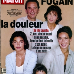 Michel Fugain, Stéphanie, Laurette, Marie et Alexis.