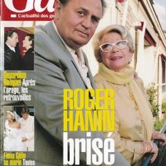 Roger Hanin et Christine Gouze-Rénal dans Gala