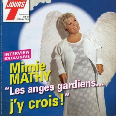 Mimie Mathy, Télé7Jours