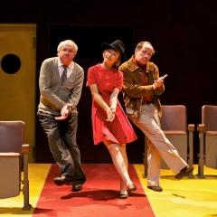 """""""Instants Critiques"""" spectacle écrit et mis en scène par François Morel. Olivier Saladin, Lucrèce Sassella et Olivier Broche"""